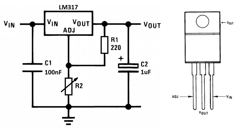 Schemat LM317