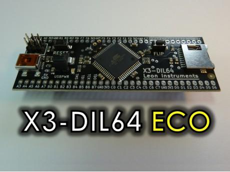 X3-ECO LOGO