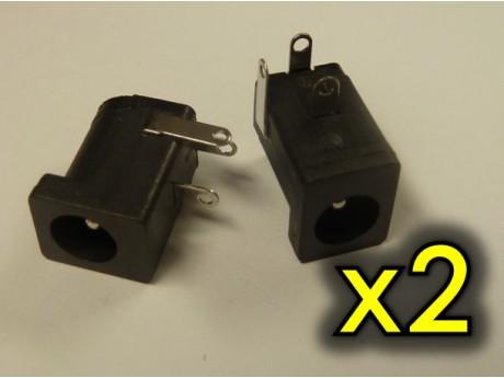 Konektor DC 5.5/2.1 (2szt)