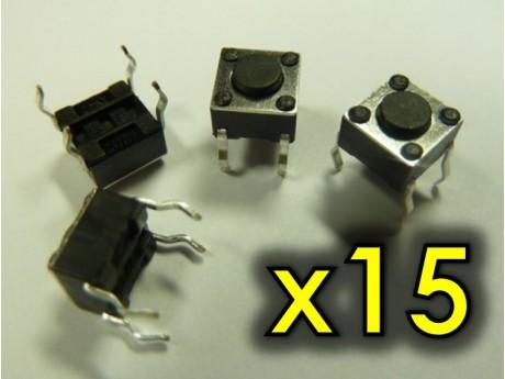 Przycisk TACT 6x6 4,3mm