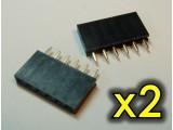 Konektor SIL6 6 pinów 2,54mm (2szt)