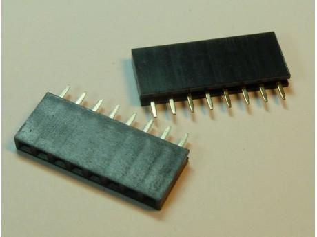 Konektor SIL8 8 pinów 2,54mm