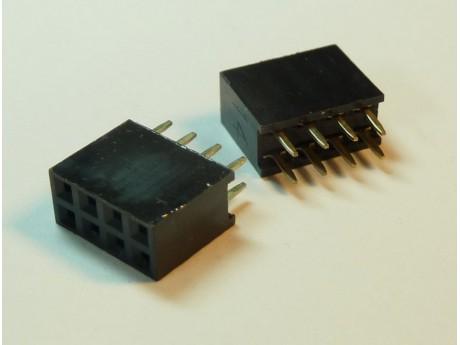 Konektor 4x2 8 pinów 2,54mm