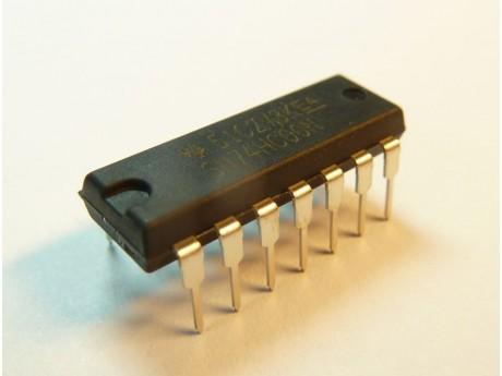 7400 74HC00 DIL14 - 6 bramek NAND