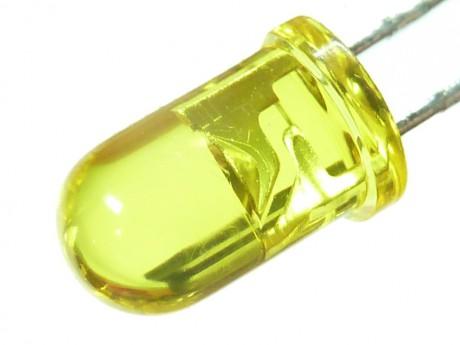 LED zielony mat 5mm