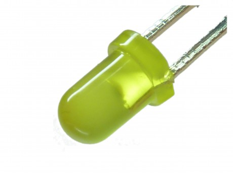 LED żółty mat 3mm (10szt)