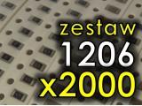 Zestaw 2000 elementów SMD 1206
