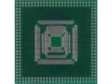 Adapter QFP52 QFP80 QFP100 QFP120 QFP160 QFP184 raster 0,65mm
