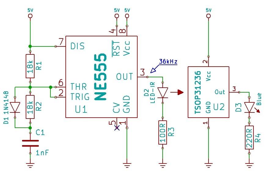 Sensor |IR z czujnikiem TSOP31236