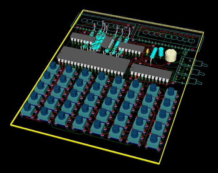 Wizualizacja 3D płytki