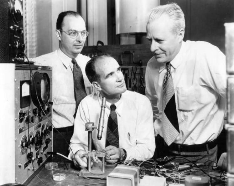 Konstruktorzy pierwszego tranzystora